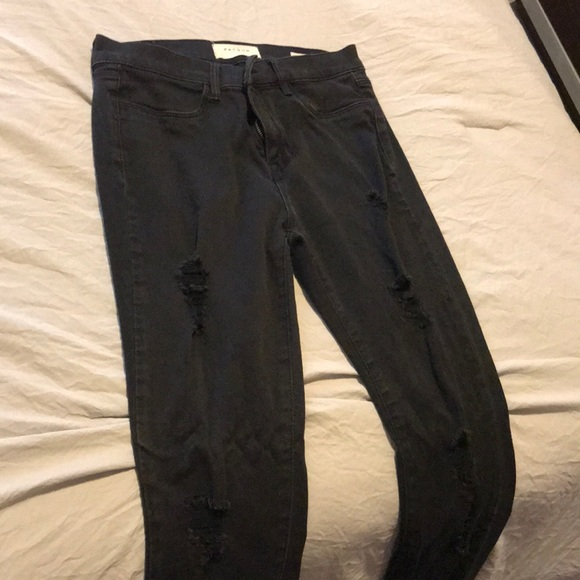 PacSun Pants - Pacsun Black ripped jegging